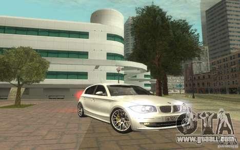 BMW 120i for GTA San Andreas
