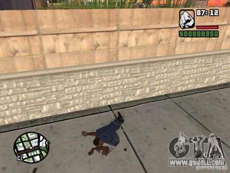 PARKoUR for GTA San Andreas ninth screenshot