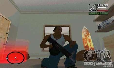 The AA-12 shotgun for GTA San Andreas third screenshot