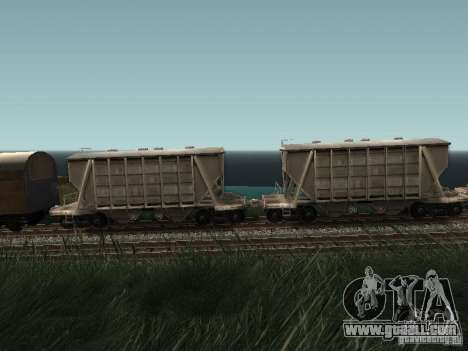Cement hopper for GTA San Andreas left view