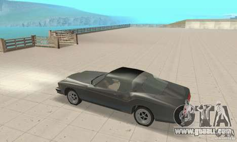 Buick Riviera 1973 for GTA San Andreas back view