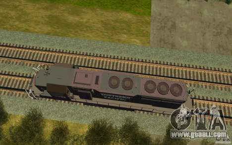 Southern Pacific SD 40 for GTA San Andreas right view
