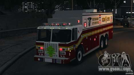 FDNY Rescue 1 [ELS] for GTA 4 upper view