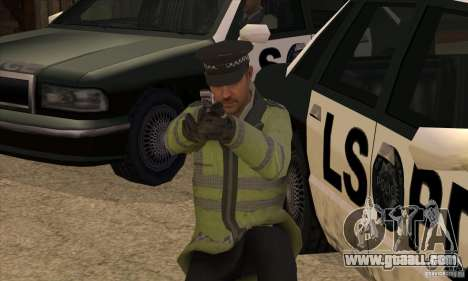 A New Police for GTA San Andreas