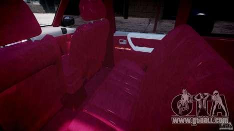 Toyota Land Cruiser 100 Stock for GTA 4 back view