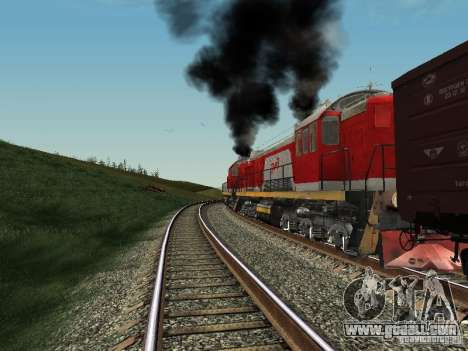 Tem2-6883 RZD for GTA San Andreas right view