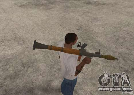 The RPG-7 for GTA San Andreas forth screenshot