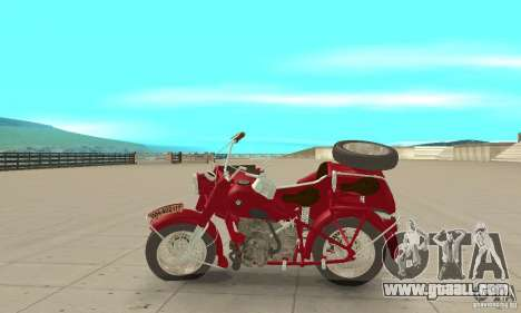 BMW R75 for GTA San Andreas left view