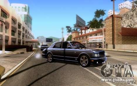Bentley Arnage for GTA San Andreas wheels
