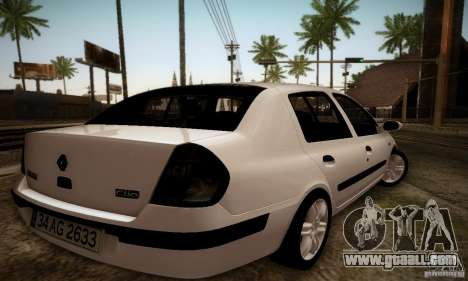 Renault Clio Sedan for GTA San Andreas left view
