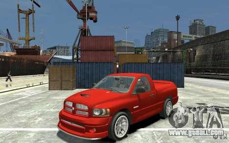 Dodge Ram SRT-10 v.1.0 for GTA 4