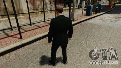 Cole Phelps for GTA 4 third screenshot
