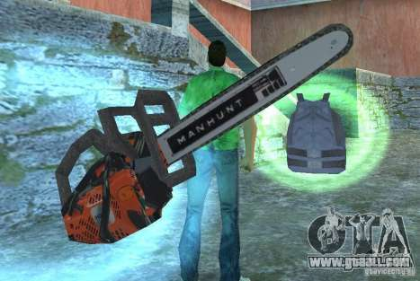 Chainsaw for GTA Vice City