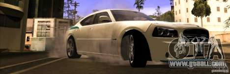 Dodge Charger R/T Daytona for GTA San Andreas right view