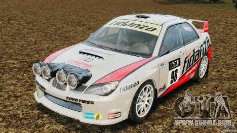 Subaru Impreza WRX STI N12 for GTA 4