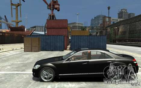 Mercedes-Benz S Class W221 for GTA 4 left view