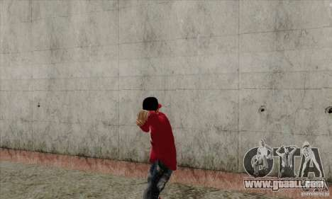 Skin substitute Bmyst for GTA San Andreas forth screenshot