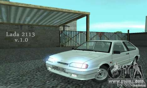 Vaz 2113 Suite v.1.0 for GTA San Andreas