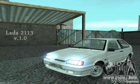 Vaz 2113 Suite v.1.0 for GTA San Andreas