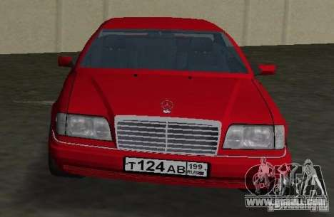 Mercedes-Benz E 320 (C124) for GTA Vice City right view