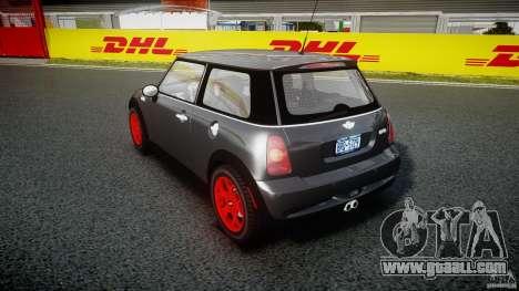 Mini Cooper S for GTA 4 side view