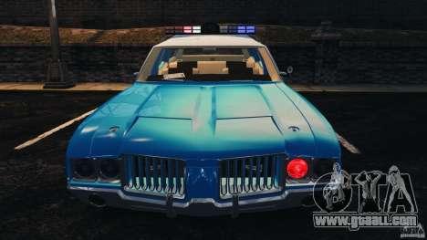Oldsmobile Vista Cruiser 1972 Police v1.0 [ELS] for GTA 4 engine