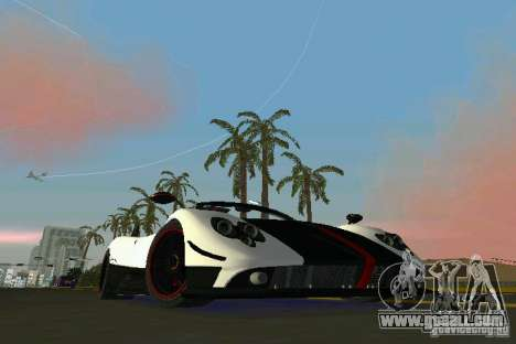 Pagani Zonda Cinque Roadster 2010 for GTA Vice City