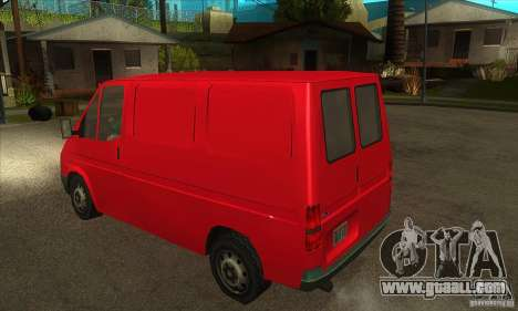 Ford Transit for GTA San Andreas right view
