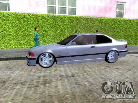 BMW M3 E36 Light Tuning for GTA San Andreas inner view