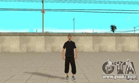 David Blane Skin for GTA San Andreas second screenshot