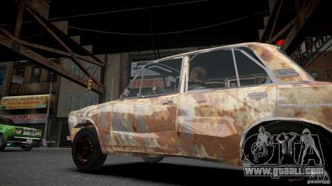 VAZ 2106 Rusty for GTA 4 left view