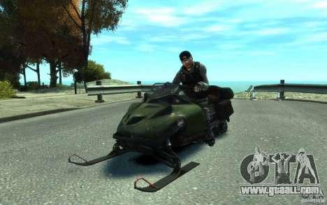 Snowmobile for GTA 4