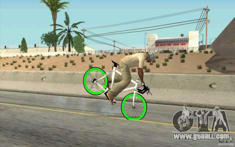 Fixie Bike for GTA San Andreas right view