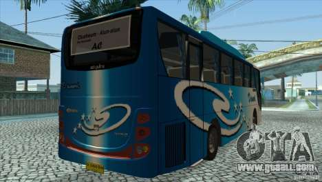 Hino New Travego RK1 for GTA San Andreas right view