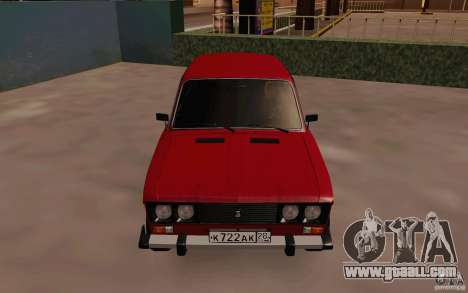VAZ 2106 Drain for GTA San Andreas inner view
