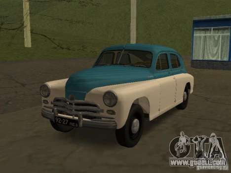 GAS M20V Victory for GTA San Andreas