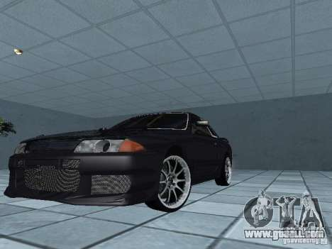 Nissan Skyline R32 Tuned for GTA San Andreas upper view