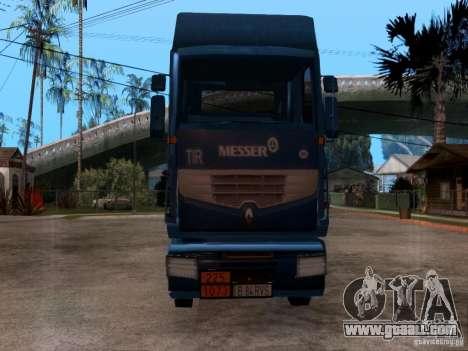 Renault Premium for GTA San Andreas back view