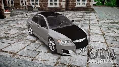 Mitsubishi Lancer Evolution VIII v1.0 for GTA 4