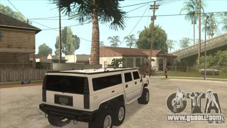 Hummer H6 for GTA San Andreas right view