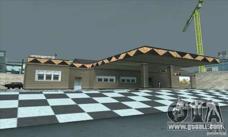 The updated garage CJ in SF for GTA San Andreas second screenshot