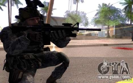 Cpl. Dunn for GTA San Andreas third screenshot