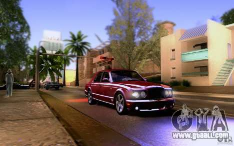 Bentley Arnage for GTA San Andreas side view