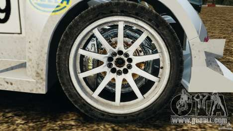 Colin McRae KING Rallycross for GTA 4 back view