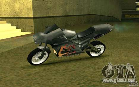 Motorcycle of the Alien City for GTA San Andreas