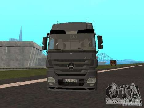 Mercedes-Benz Actros MP3 for GTA San Andreas left view