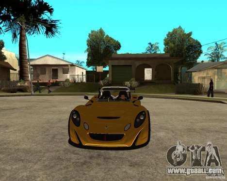 Lotus 2-Eleven for GTA San Andreas back view