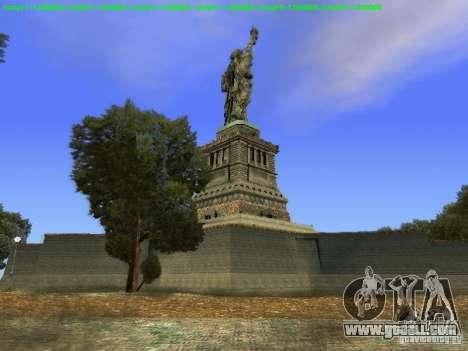 Statue of liberty 2013 for GTA San Andreas sixth screenshot