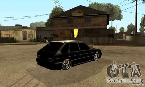 Lada ВАЗ 2114 LT for GTA San Andreas right view