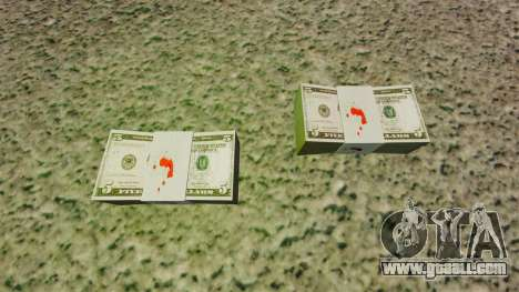 United States banknotes in denominations of $ 5 for GTA 4 second screenshot